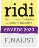 Ridi Awards 2020 finalist banner